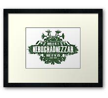The Nebuchadnezzar Framed Print