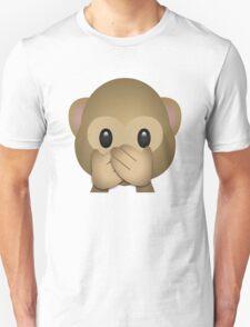 Kleines Äffchen - Mund zu Unisex T-Shirt