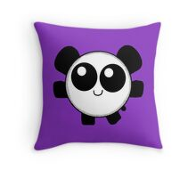 Chibi Panda Throw Pillow