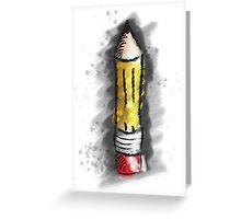 Pencil Art Greeting Card