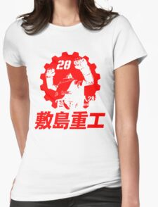 New Gigantor Tetsujin-28 go Shikishima Heavy Industries Japan Retro Mecha Anime Womens Fitted T-Shirt
