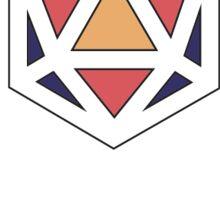 Odesza Filled Colorful Logo Sticker