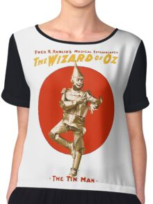 The Tin Man - Wizard Of Oz Chiffon Top