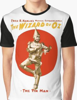 The Tin Man - Wizard Of Oz Graphic T-Shirt