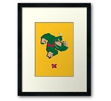 Donkey Kong - Super Smash Brothers Framed Print