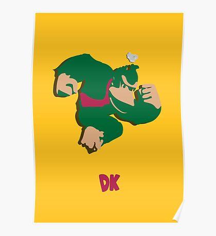 Donkey Kong - Super Smash Brothers Poster