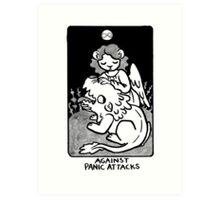 Sigil Against Panic Attacks Art Print