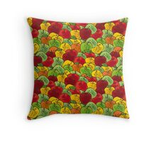 So many apples Throw Pillow