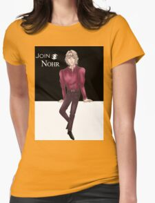 Supermodel Xander Womens Fitted T-Shirt