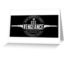 U.S.S. Vengeance Greeting Card