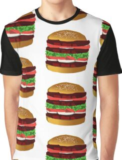 Cool Cheeseburger Graphic Graphic T-Shirt