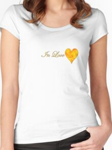 Fire Flame Women's Fitted Scoop T-Shirt