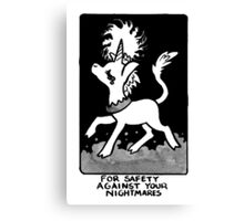 Sigil For Safety Against Your Nightmares Canvas Print