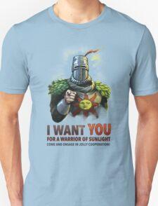 Warrior of Sunlight Recruitment Unisex T-Shirt