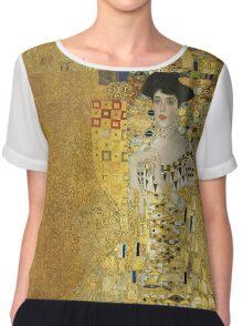 Gustav Klimt  - Portrait of Adele  Chiffon Top