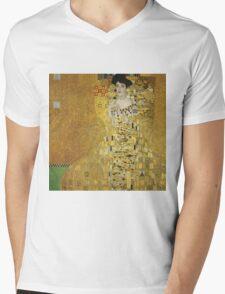Gustav Klimt  - Portrait of Adele  Mens V-Neck T-Shirt