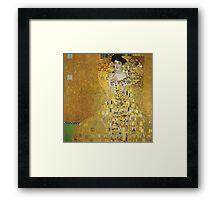 Gustav Klimt  - Portrait of Adele  Framed Print
