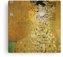 Gustav Klimt  - Portrait of Adele  Canvas Print