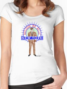 Bonjour ma belle New York by Francisco Evans ™ Women's Fitted Scoop T-Shirt