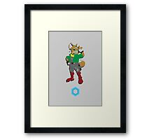 Fox McCloud - Super Smash Brothers Framed Print