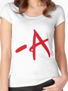A - Pretty Little Liars Women's Fitted Scoop T-Shirt