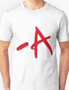 A - Pretty Little Liars Unisex T-Shirt