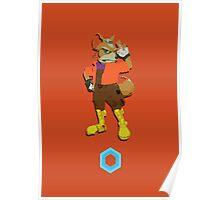 Fox McCloud - Super Smash Brothers Poster