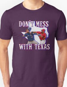 Don't Punch In Texas T-Shirt