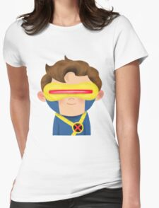 X-Men Animated Series: Cyclops Womens Fitted T-Shirt