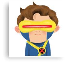 X-Men Animated Series: Cyclops Canvas Print