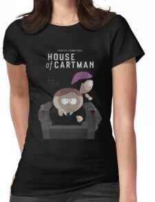House Of Cards Womens Fitted T-Shirt