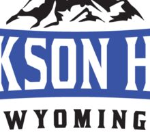 JACKSON HOLE WYOMING Mountain Skiing Ski Snowboard Snowboarding Sticker