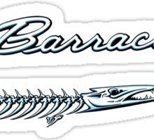 plymouth barracuda Sticker