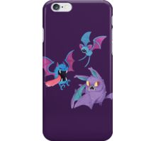 Zubat Golbat Crobat iPhone Case/Skin