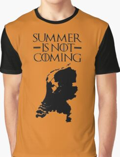 Summer is NOT coming - netherlands(black text) Graphic T-Shirt