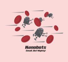 Nanobots - Small But Mighty! Baby Tee
