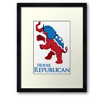 House Republican Framed Print