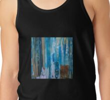 Untitled in blue, green, and orange Tank Top