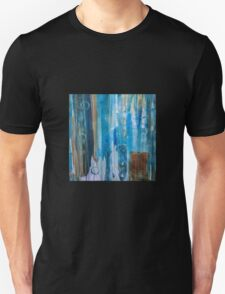 Untitled in blue, green, and orange Unisex T-Shirt
