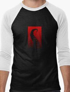 Red Hook Tentacle Logo Men's Baseball ¾ T-Shirt