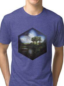 Magic Nature Landscape Tri-blend T-Shirt