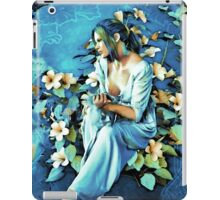 GIRL AND FLOWERS 7D iPad Case/Skin