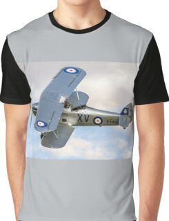 Hawker Hind K5414/XV G-BTVE Graphic T-Shirt