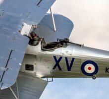 Hawker Hind K5414/XV G-BTVE Sticker