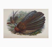 Birds of Asia John Gould 1883 V1 V7 510 Argusianus Argus Kids Tee