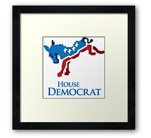House Democrat Framed Print