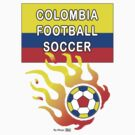 Colombia Football Soccer by mago