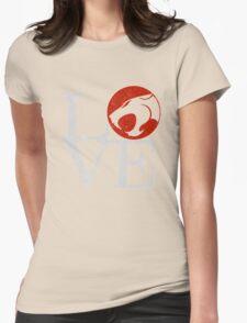 LOVE HOOOOO! Womens Fitted T-Shirt