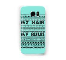 My hair my rules Samsung Galaxy Case/Skin