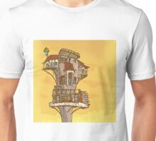 Wooden house at sky Unisex T-Shirt